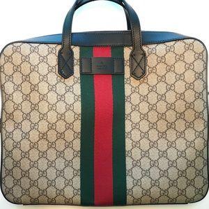 100% Authentic Gucci Briefcase